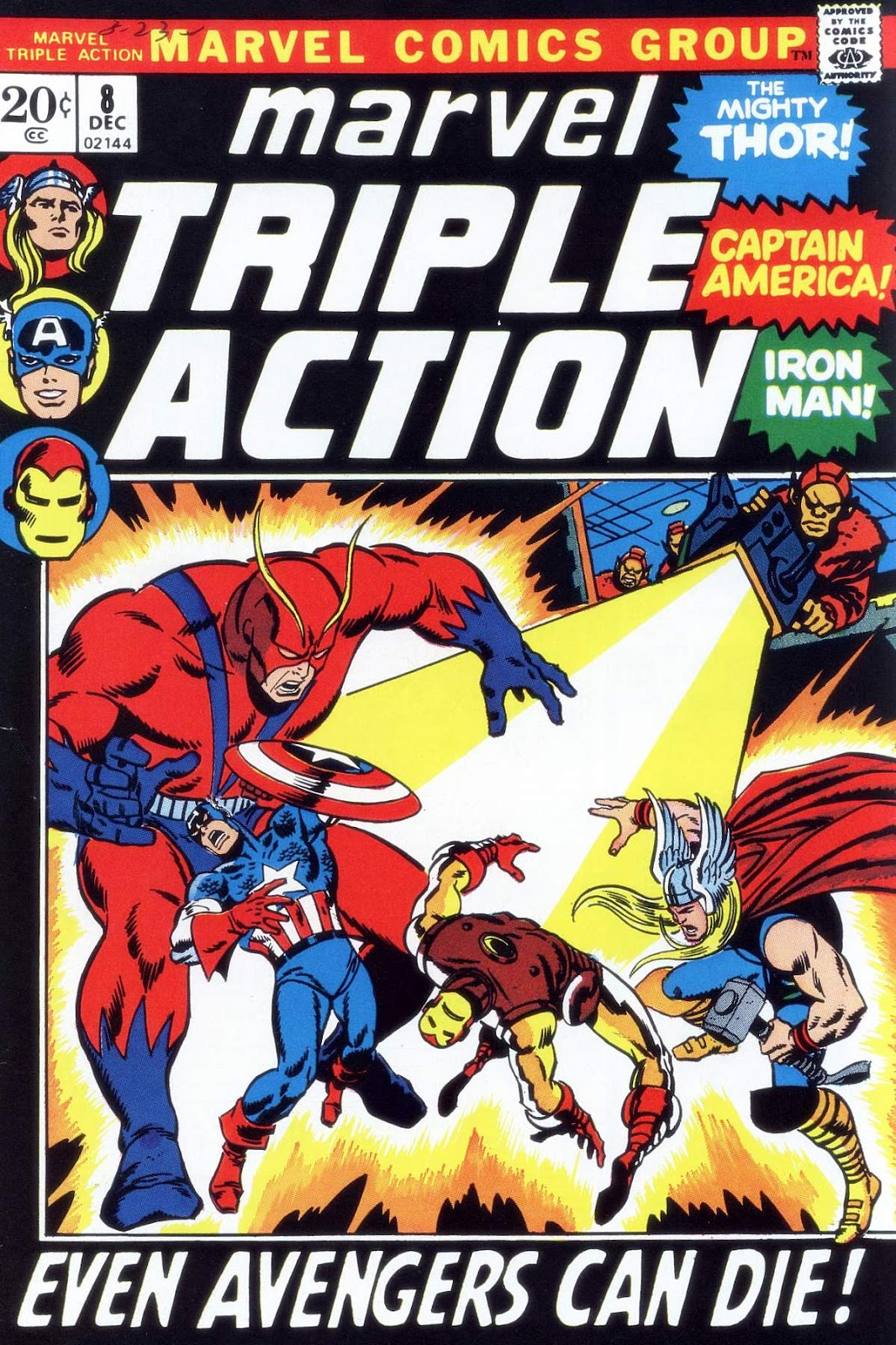 Marvel Triple Action (1972) issue 8 - Page 1