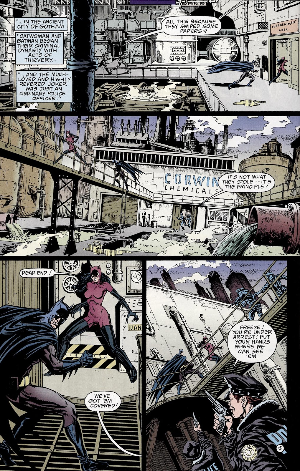 Catwoman (1993) Annual 3 #3 - English 3