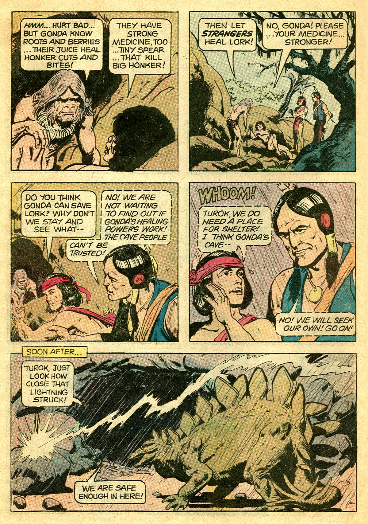 Read online Turok, Son of Stone comic -  Issue #127 - 6