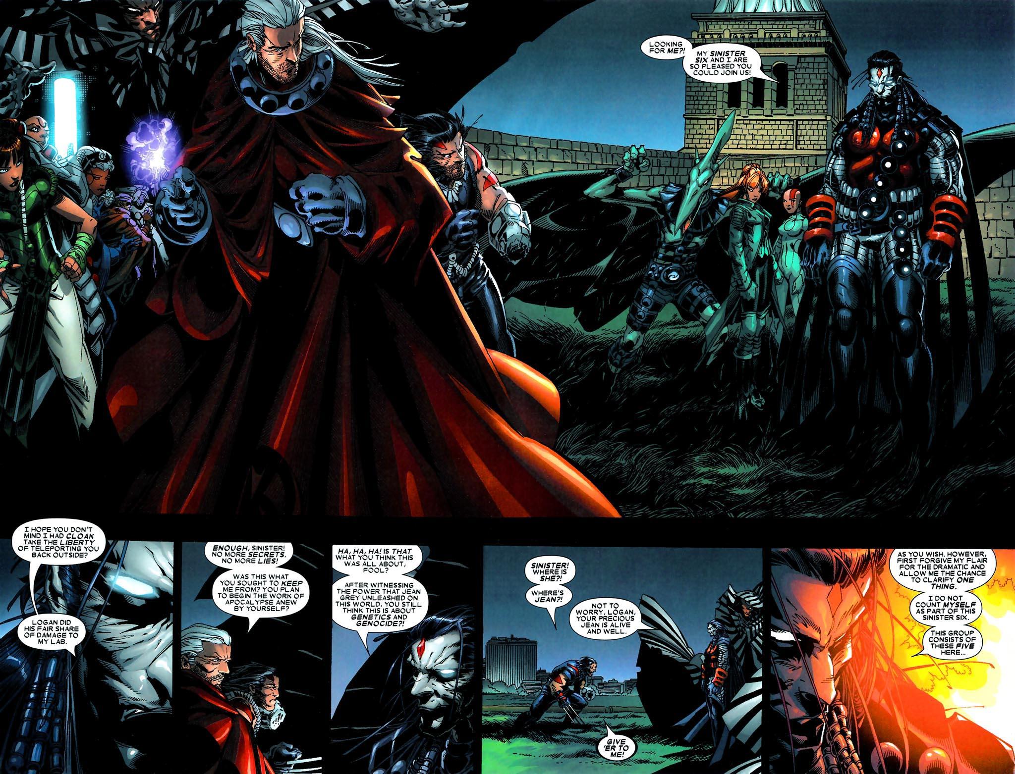 Read online Age of Apocalypse (2005) comic -  Issue #5 - 19