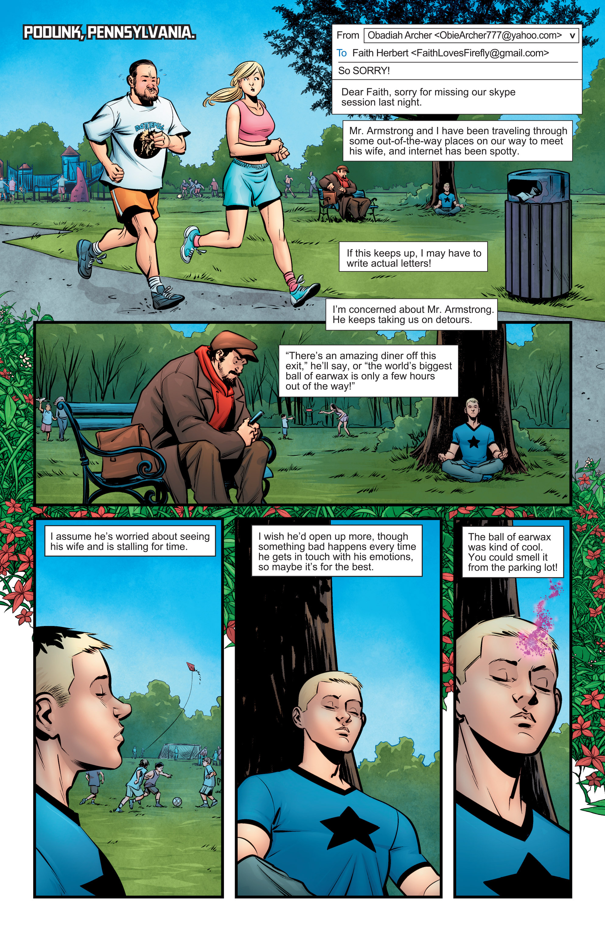 Read online A&A: The Adventures of Archer & Armstrong comic -  Issue #6 - 3