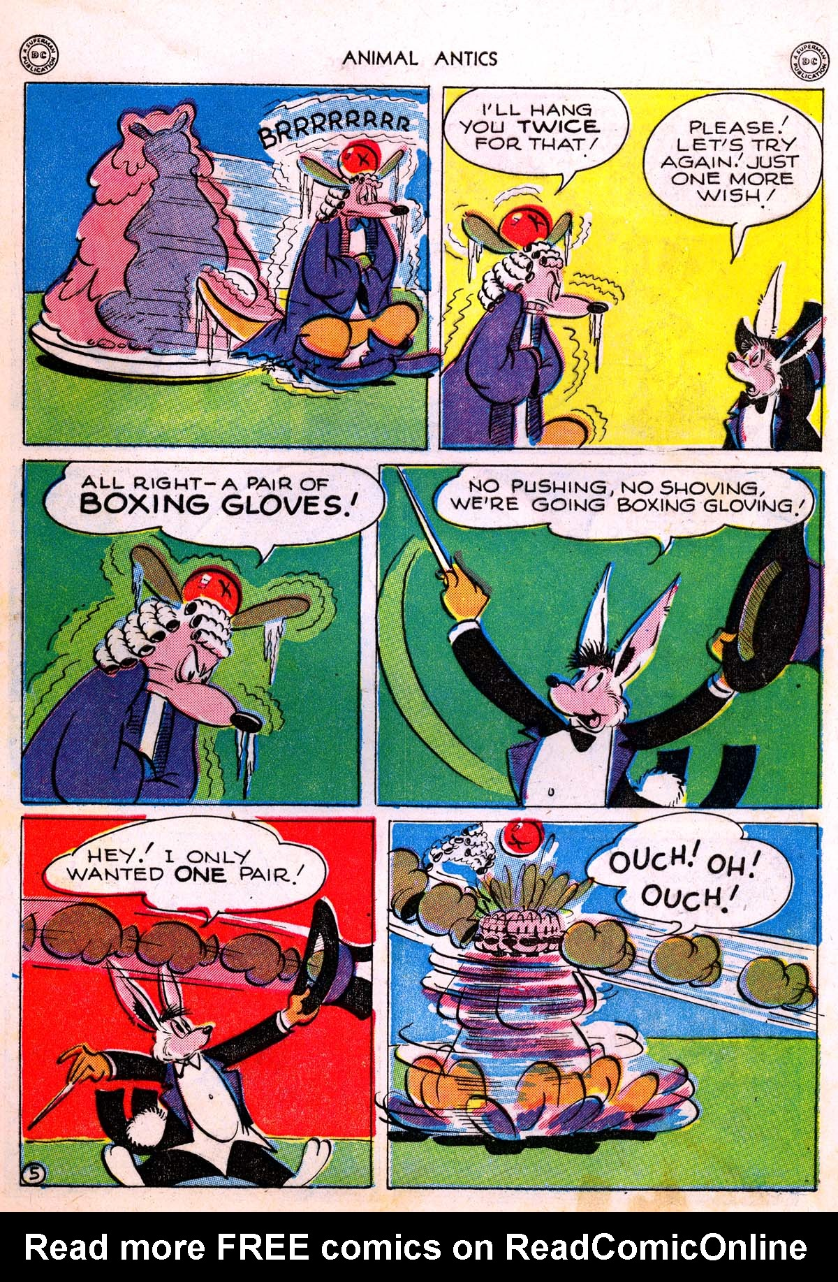 Read online Animal Antics comic -  Issue #5 - 7