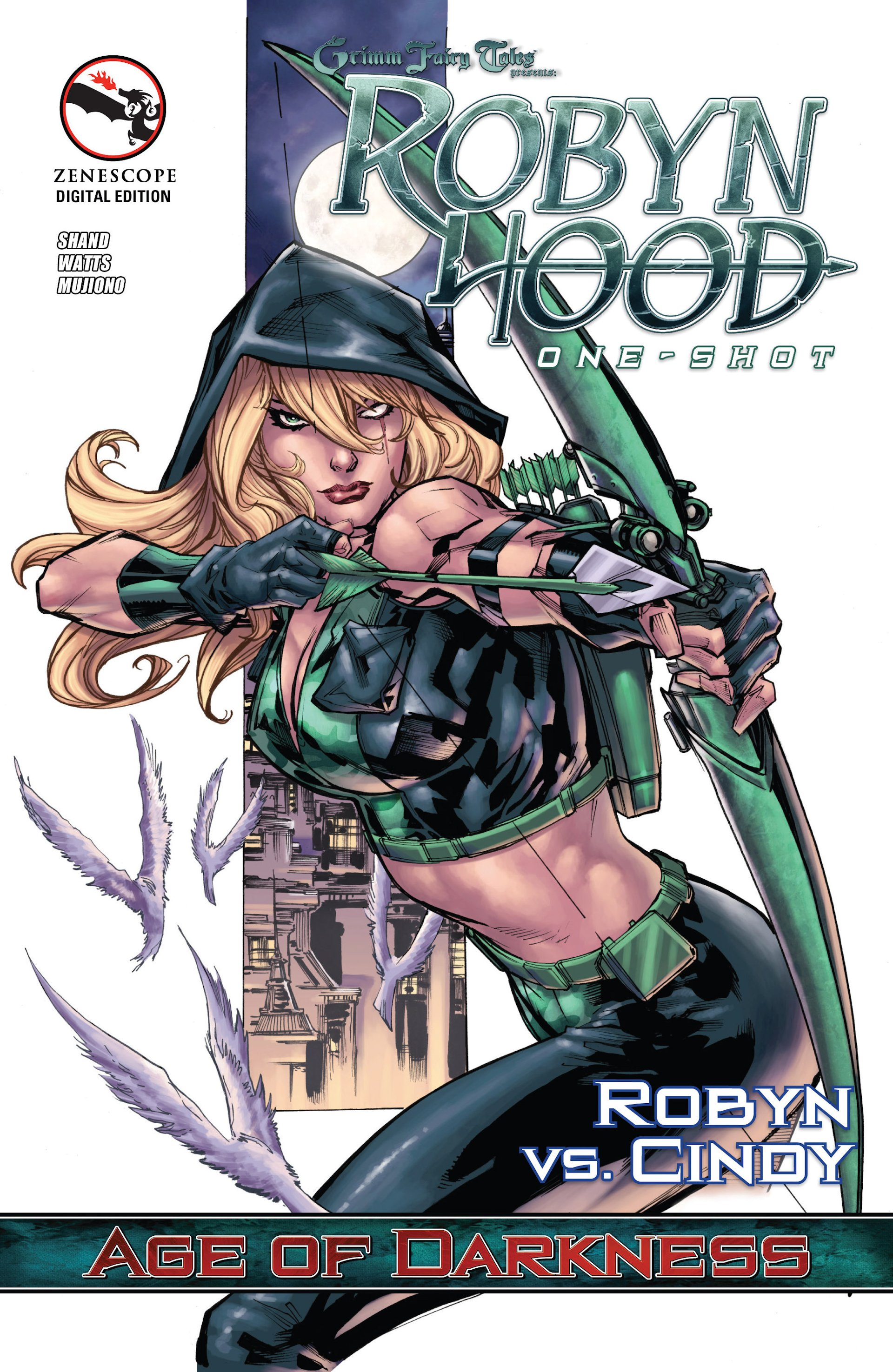 Grimm Fairy Tales presents Robyn Hood: Age of Darkness Full Page 1