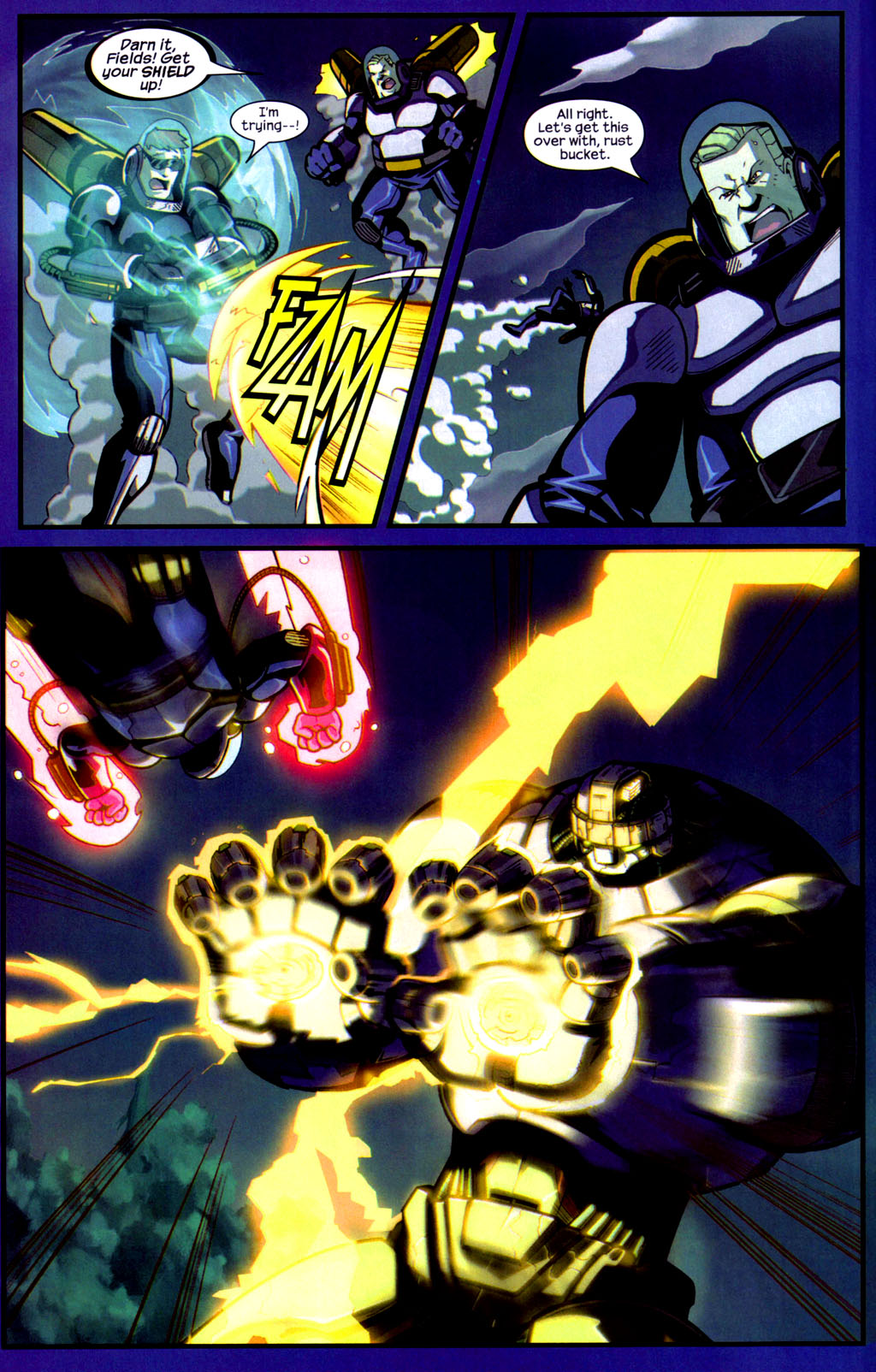 Read online Sentinel comic -  Issue #9 - 8