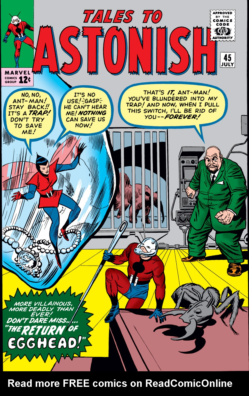 Tales to Astonish (1959) issue 45 - Page 1