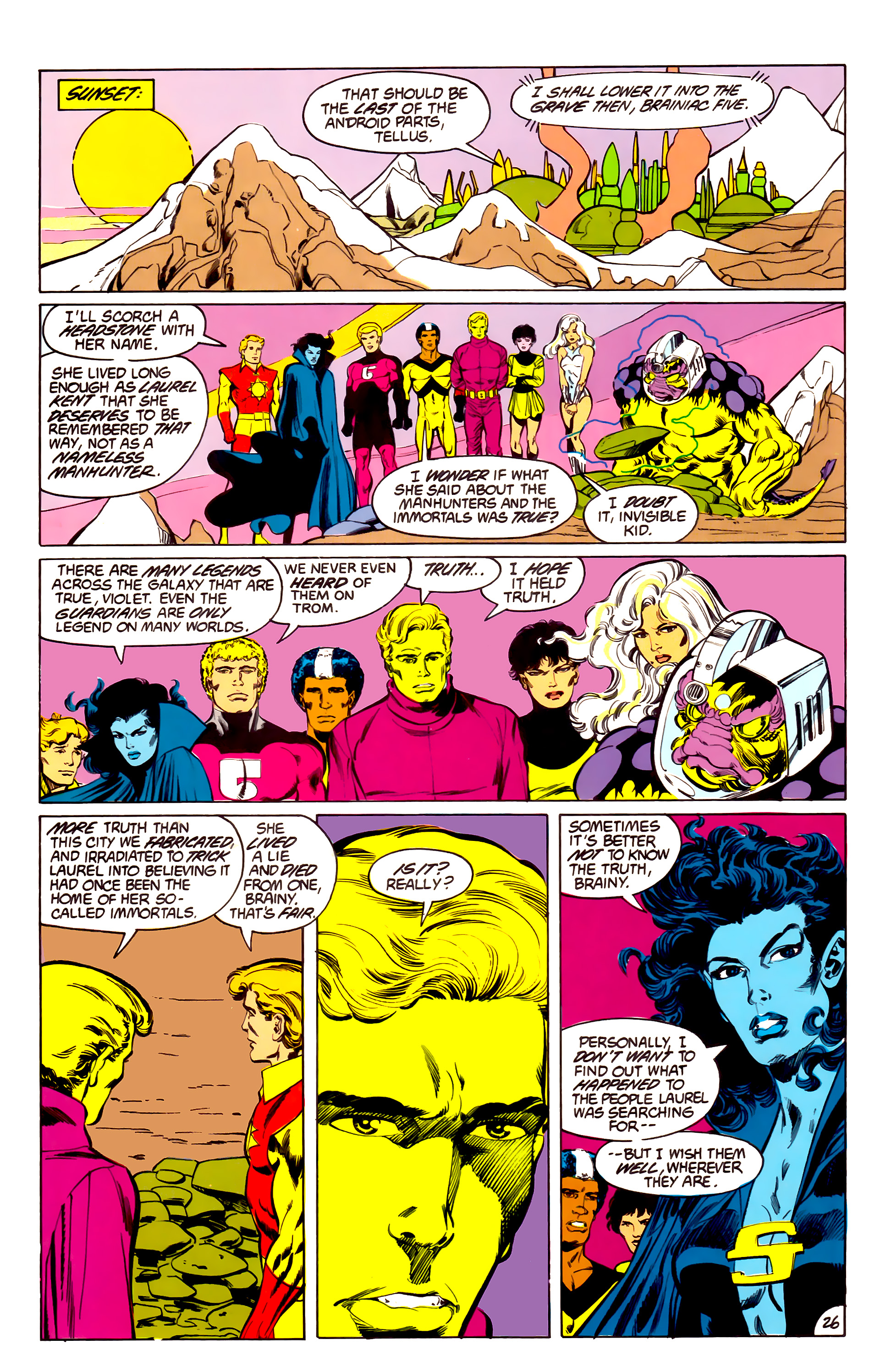 Legion of Super-Heroes (1984) 43 Page 26