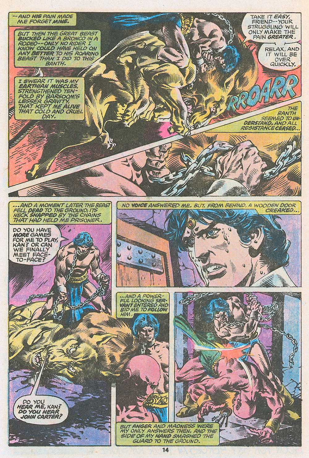 John Carter Warlord of Mars issue 3 - Page 16