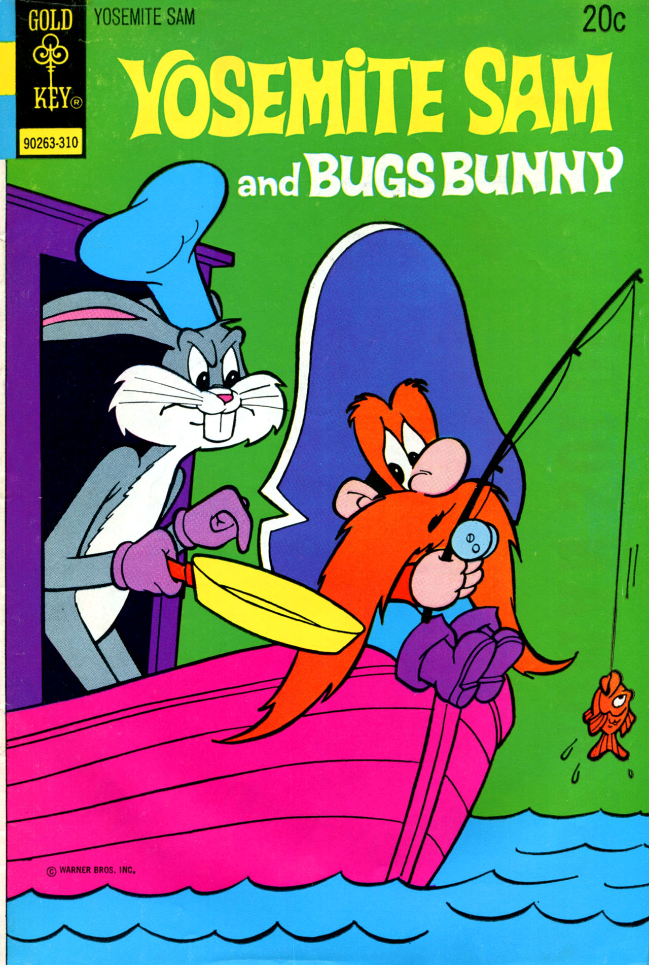 Yosemite Sam and Bugs Bunny 17 Page 1