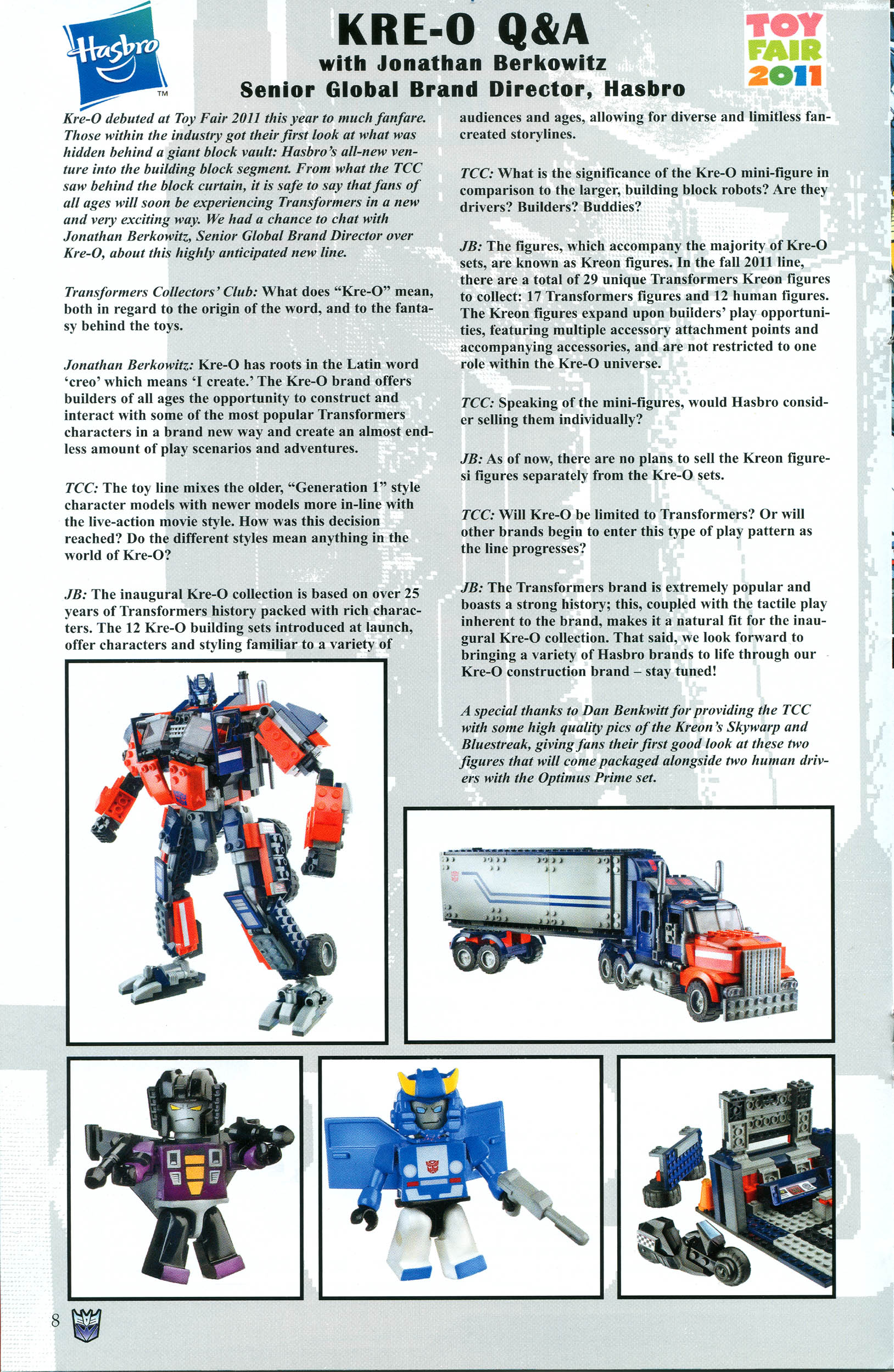 Read online Transformers: Collectors' Club comic -  Issue #38 - 8