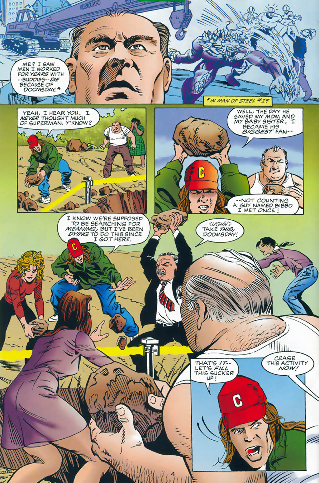 Read online Doomsday Annual comic -  Issue # Full - 5