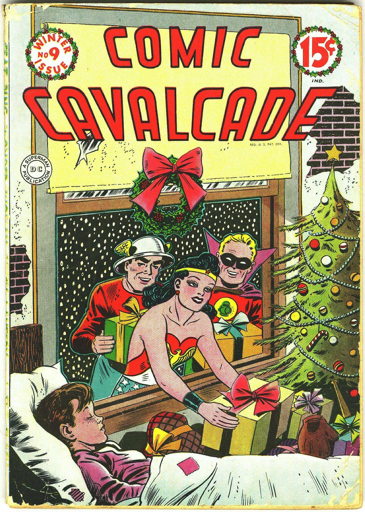 Comic Cavalcade 9 Page 1
