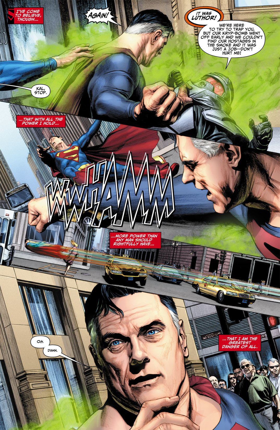 Read online JSA Kingdom Come Special: Superman comic -  Issue # Full - 13