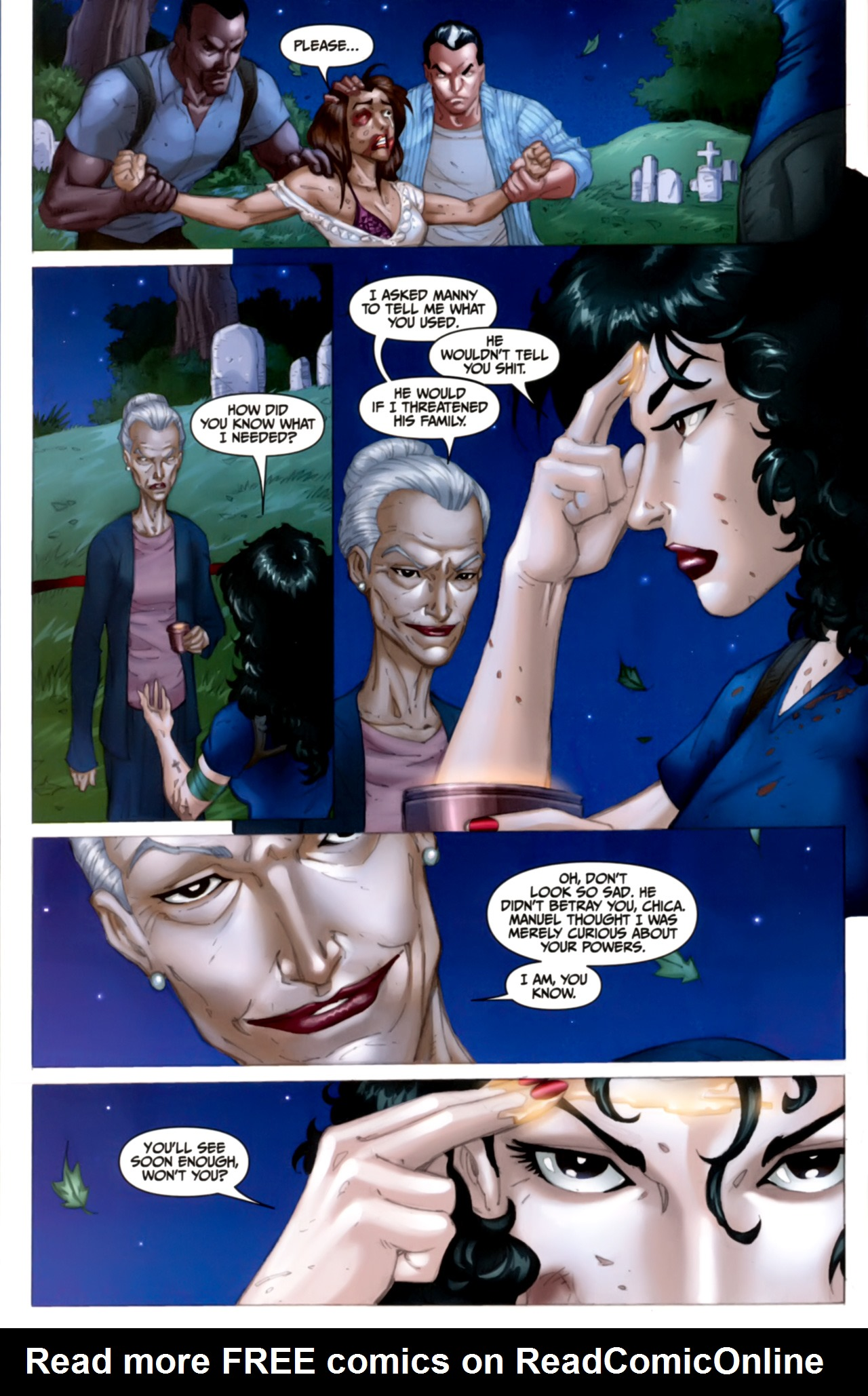 Read online Anita Blake: The Laughing Corpse - Executioner comic -  Issue #4 - 24