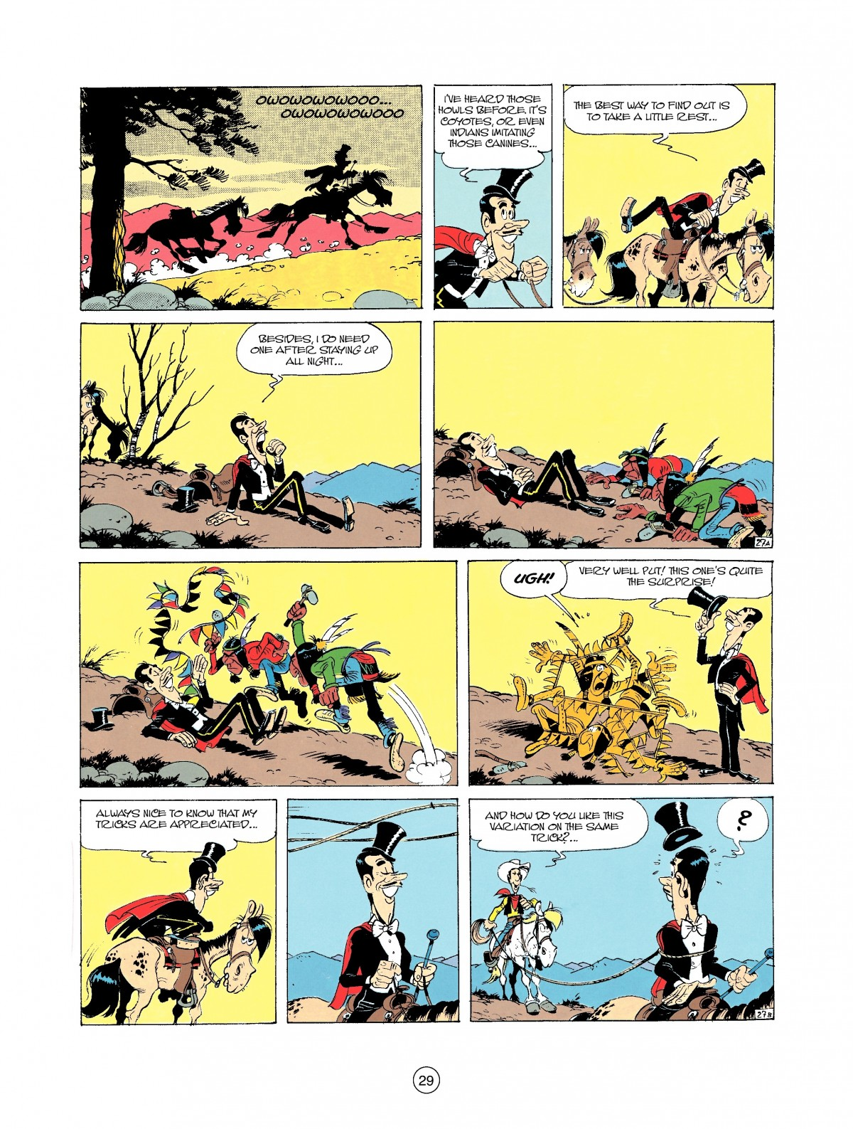 Read online A Lucky Luke Adventure comic -  Issue #37 - 29