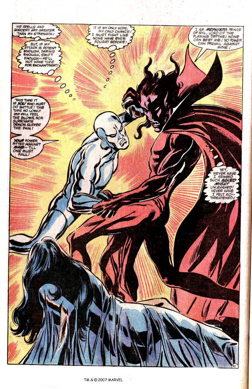 Read online Silver Surfer (1982) comic -  Issue # Full - 44