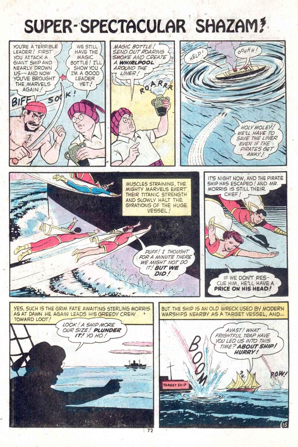 Read online Shazam! (1973) comic -  Issue #13 - 73
