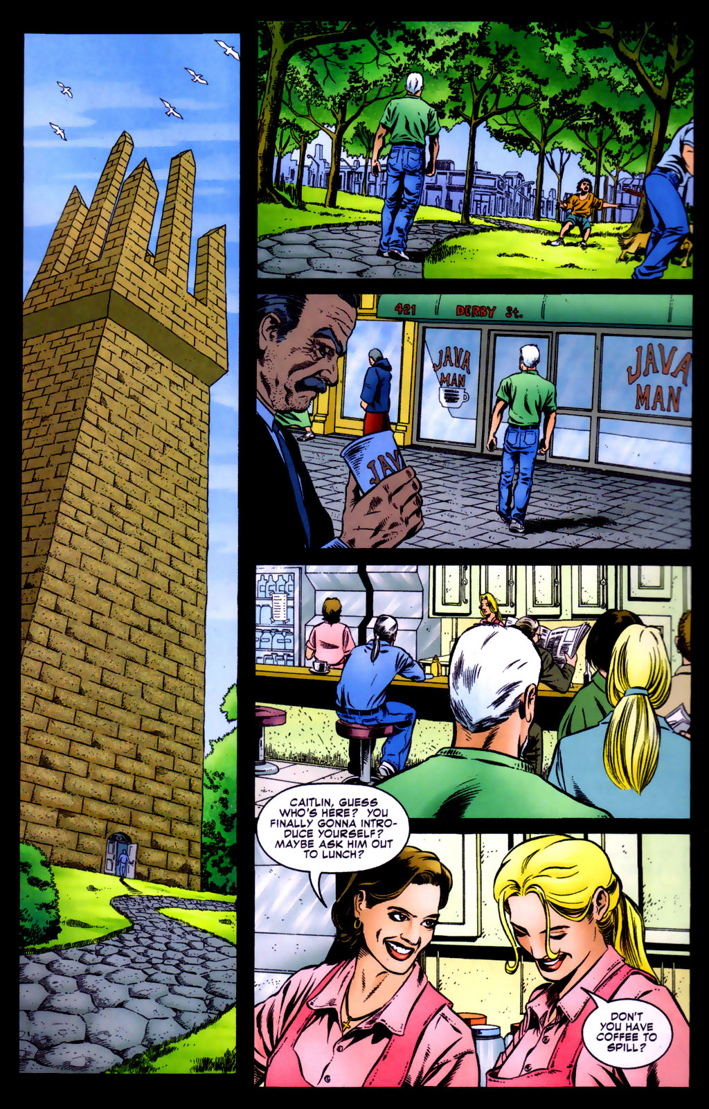Read online Doctor Fate (2003) comic -  Issue #5 - 22