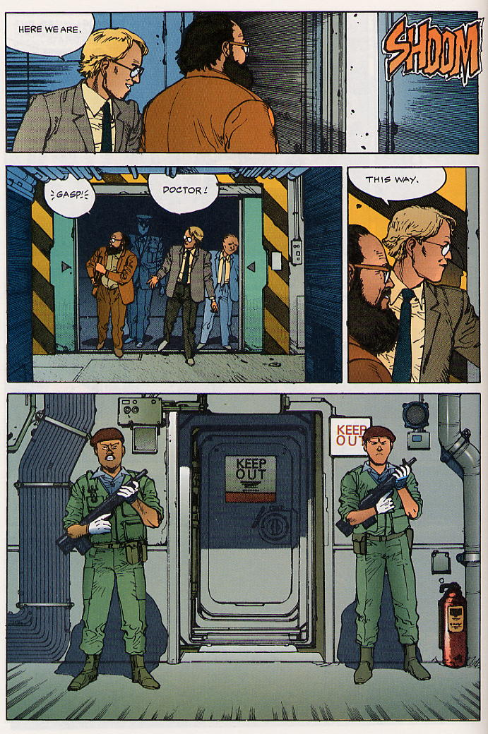 Read online Akira comic -  Issue #24 - 16