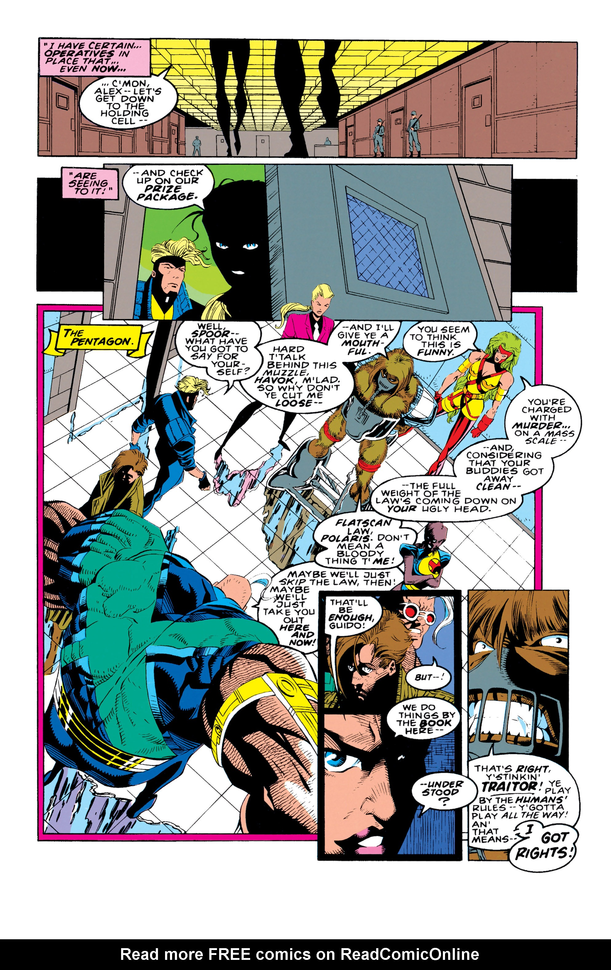 Read online X-Factor (1986) comic -  Issue #92 - 9