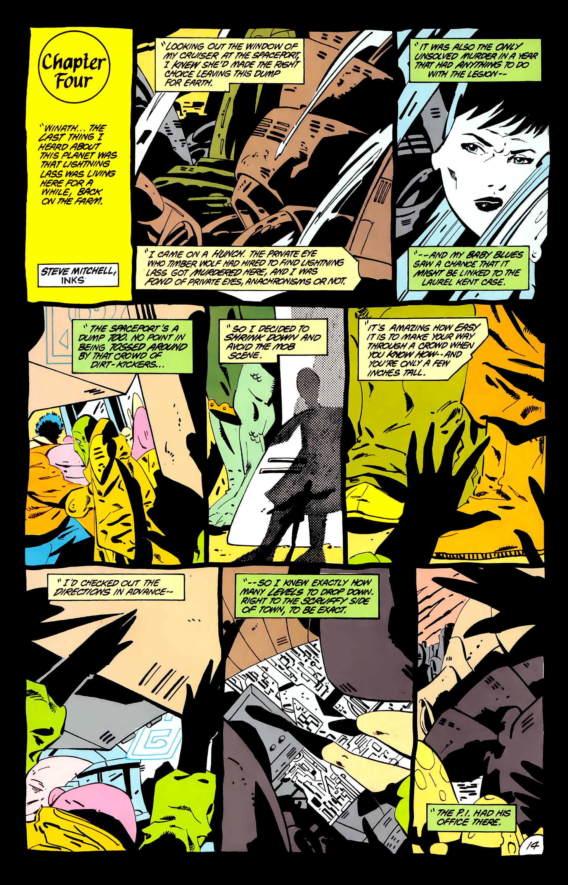 Legion of Super-Heroes (1984) _Annual_1 Page 15
