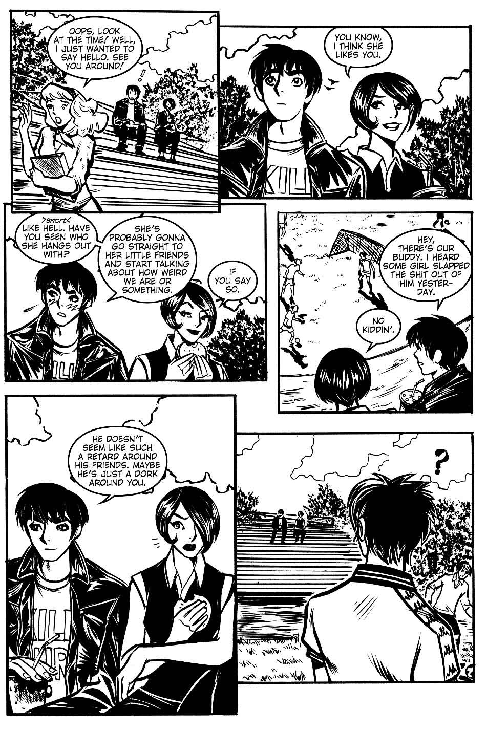 Read online Scooter Girl comic -  Issue #1 - 23