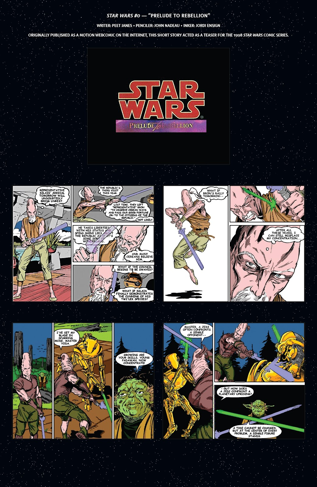 Read online Star Wars Legends: Rise of the Sith - Epic Collection comic -  Issue # TPB 2 (Part 1) - 6