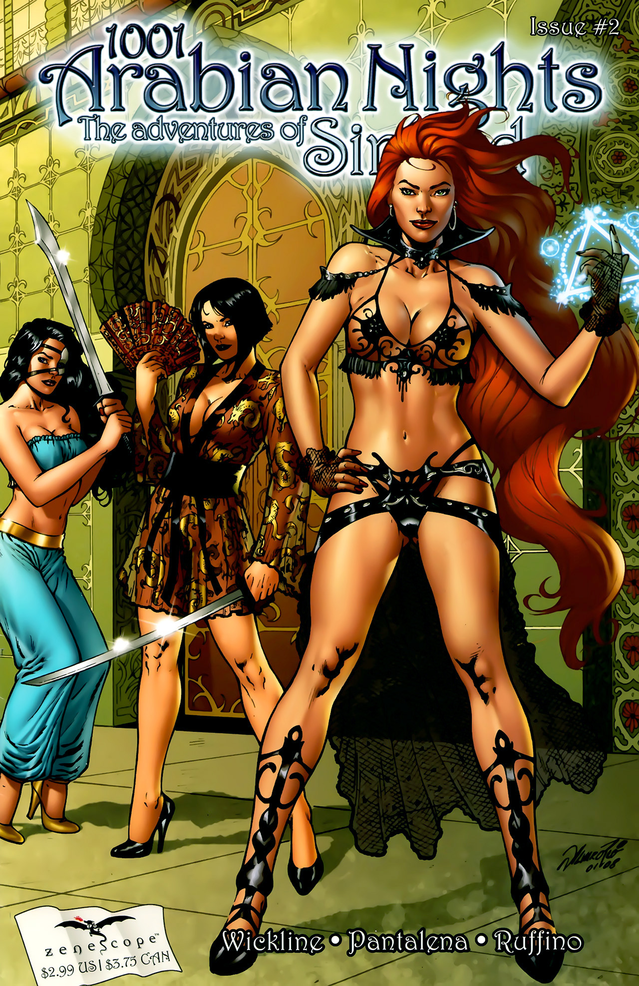Read online 1001 Arabian Nights: The Adventures of Sinbad comic -  Issue #2 - 2