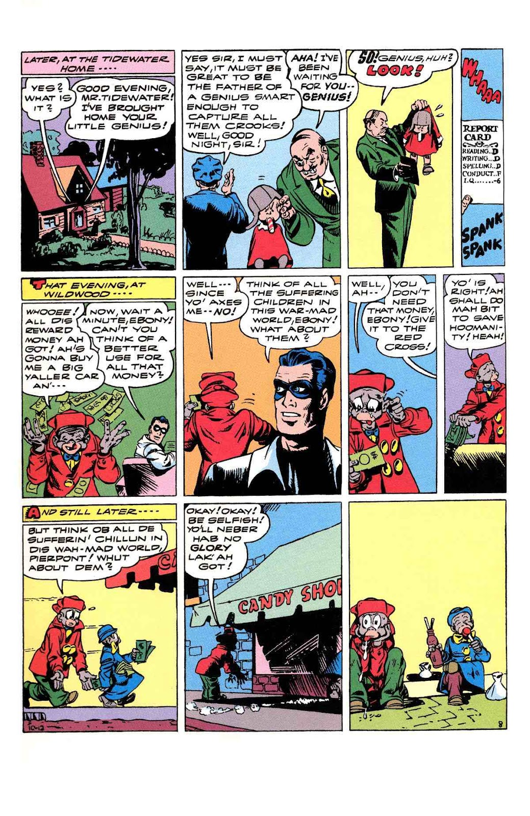 Read online Will Eisner's The Spirit Archives comic -  Issue # TPB 3 (Part 2) - 21