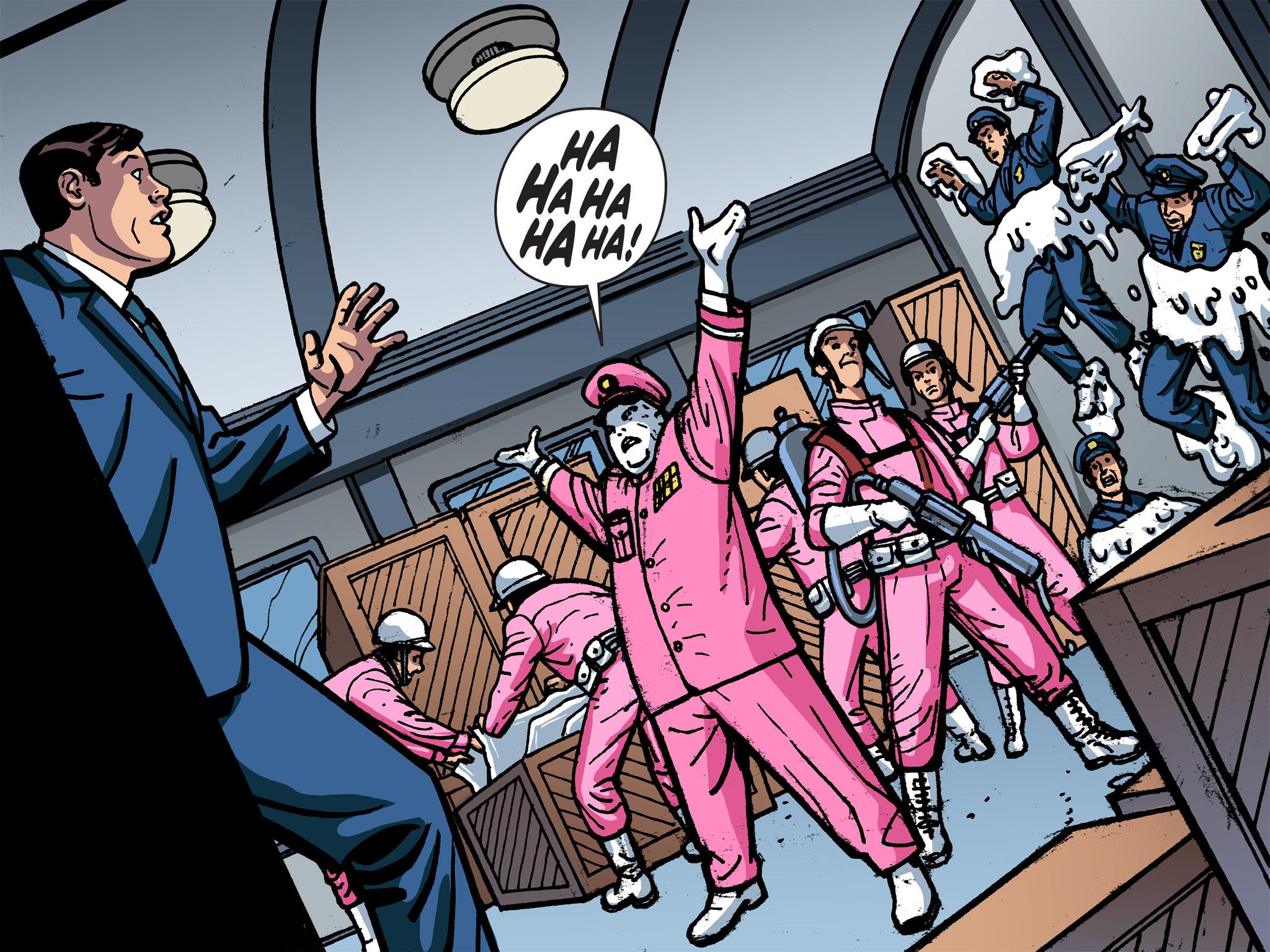 Read online Batman '66 Meets the Green Hornet [II] comic -  Issue #1 - 96