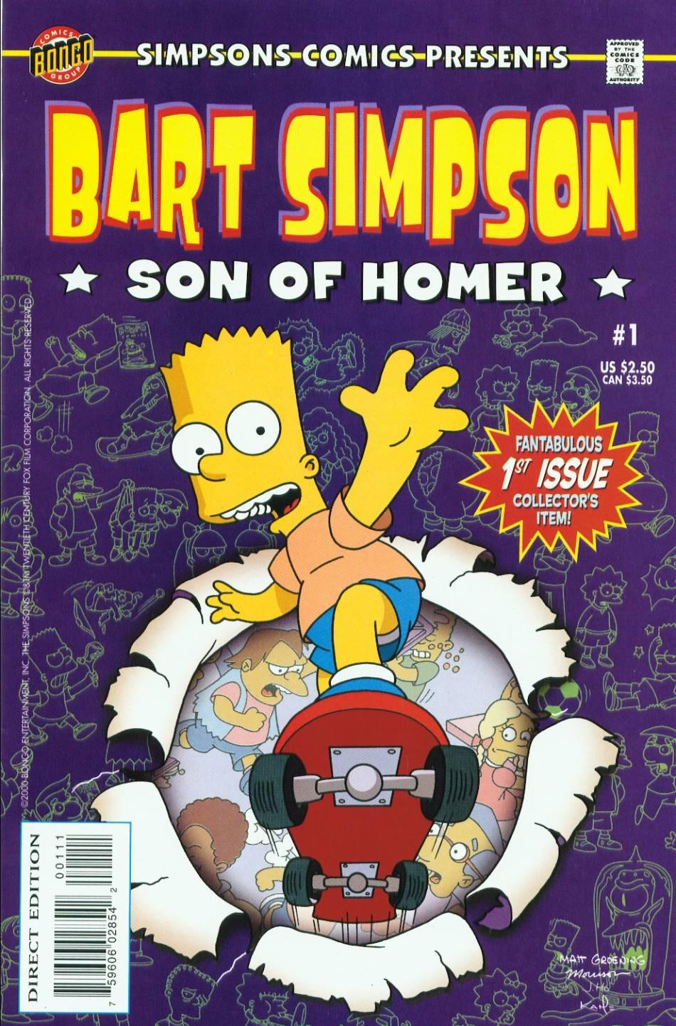Simpsons Comics Presents Bart Simpson 1 Page 1