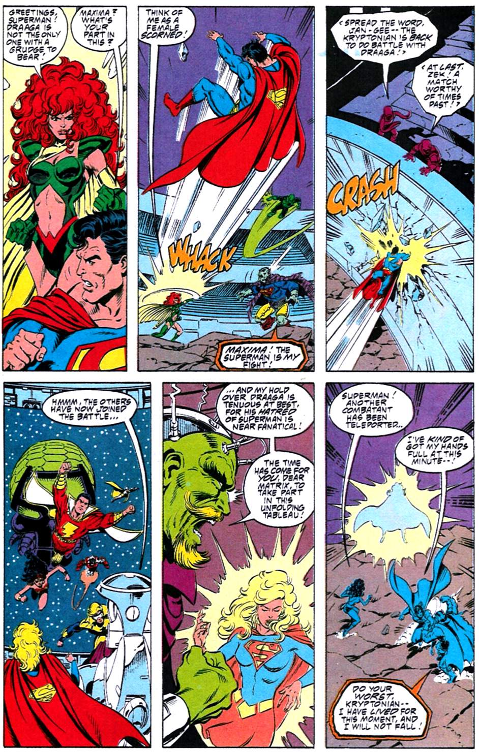 Read online Adventures of Superman (1987) comic -  Issue #488 - 18