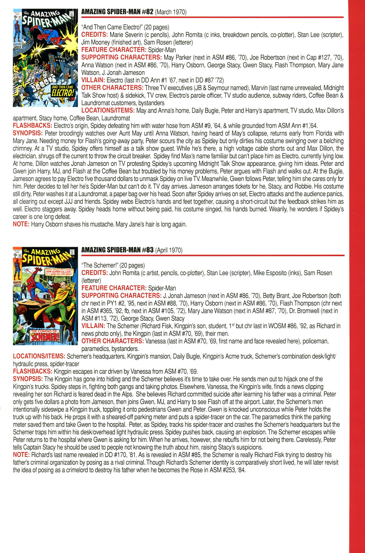 Read online Official Index to the Marvel Universe comic -  Issue #2 - 15