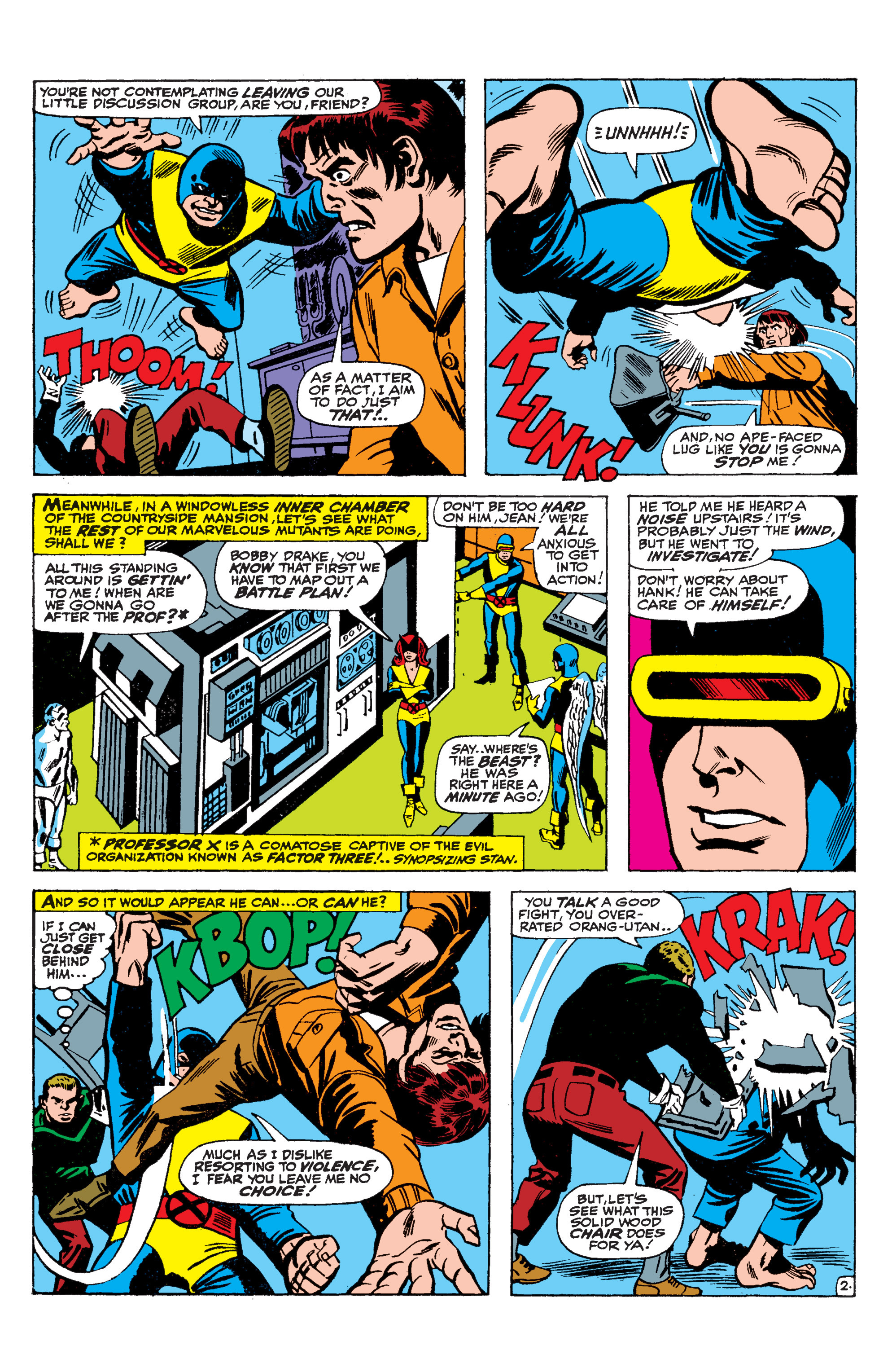 Read online Uncanny X-Men (1963) comic -  Issue #36 - 3