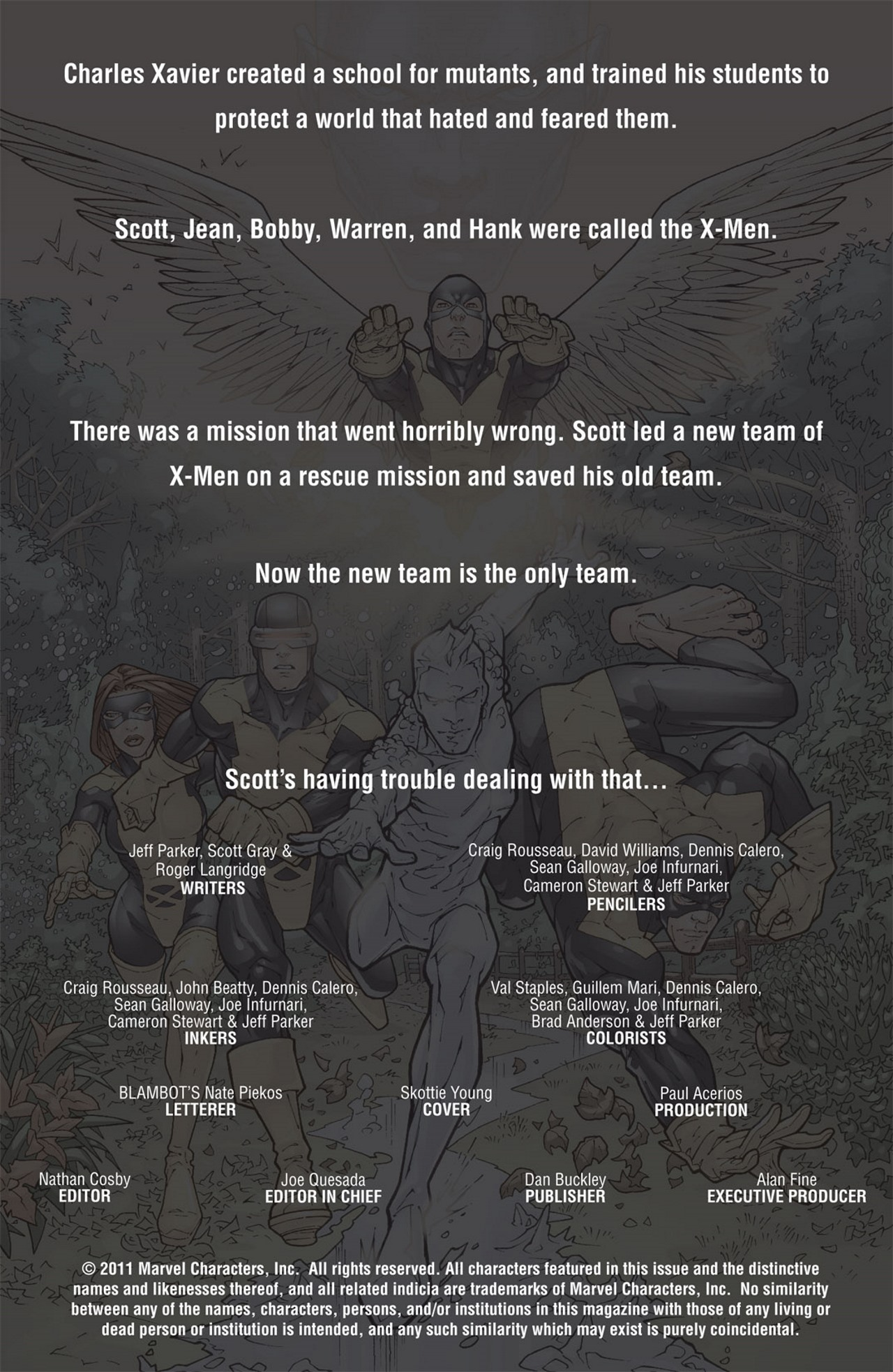 Read online Uncanny X-Men: First Class Giant-Size Special comic -  Issue # Full - 2