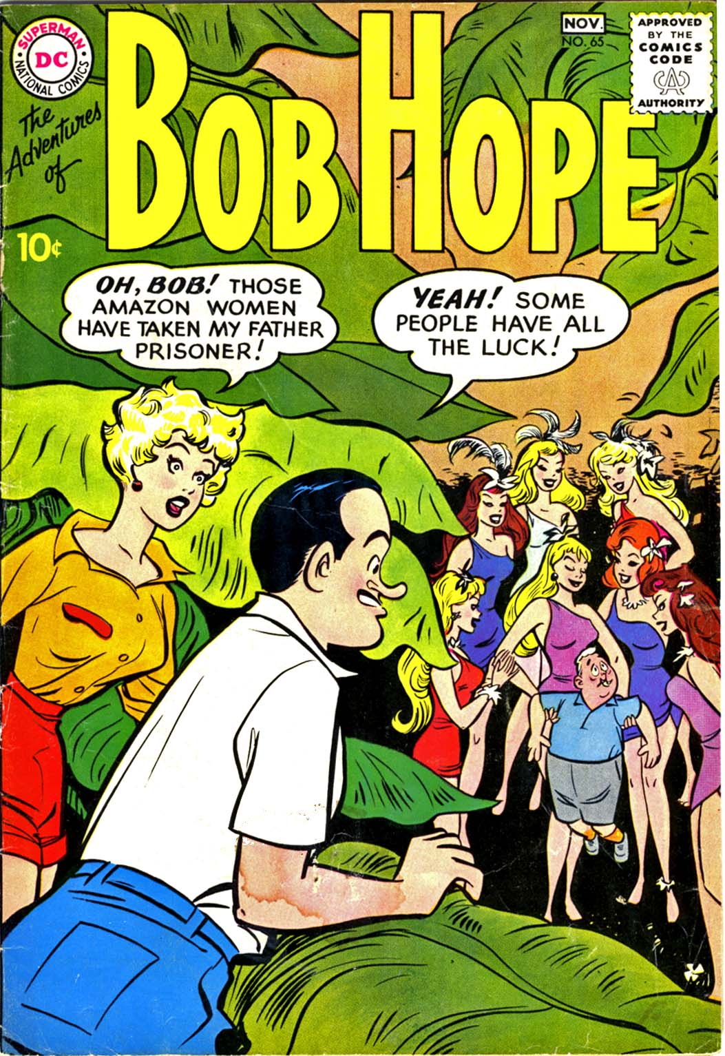 The Adventures of Bob Hope issue 65 - Page 1