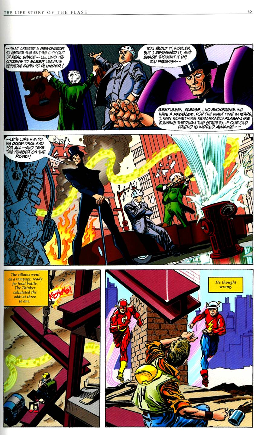 Read online The Life Story of the Flash comic -  Issue # Full - 47