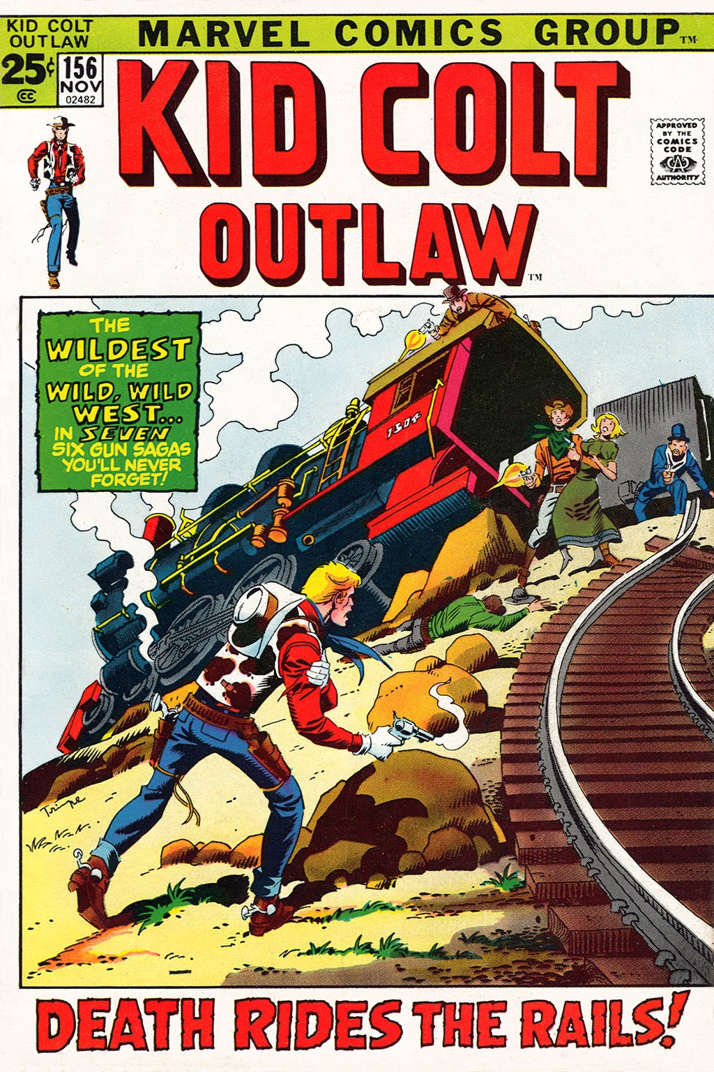 Kid Colt Outlaw issue 156 - Page 1