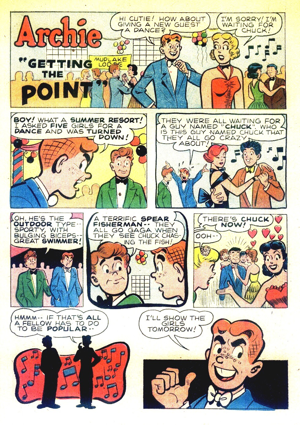 Read online Archie's Girls Betty and Veronica comic -  Issue #27 - 10