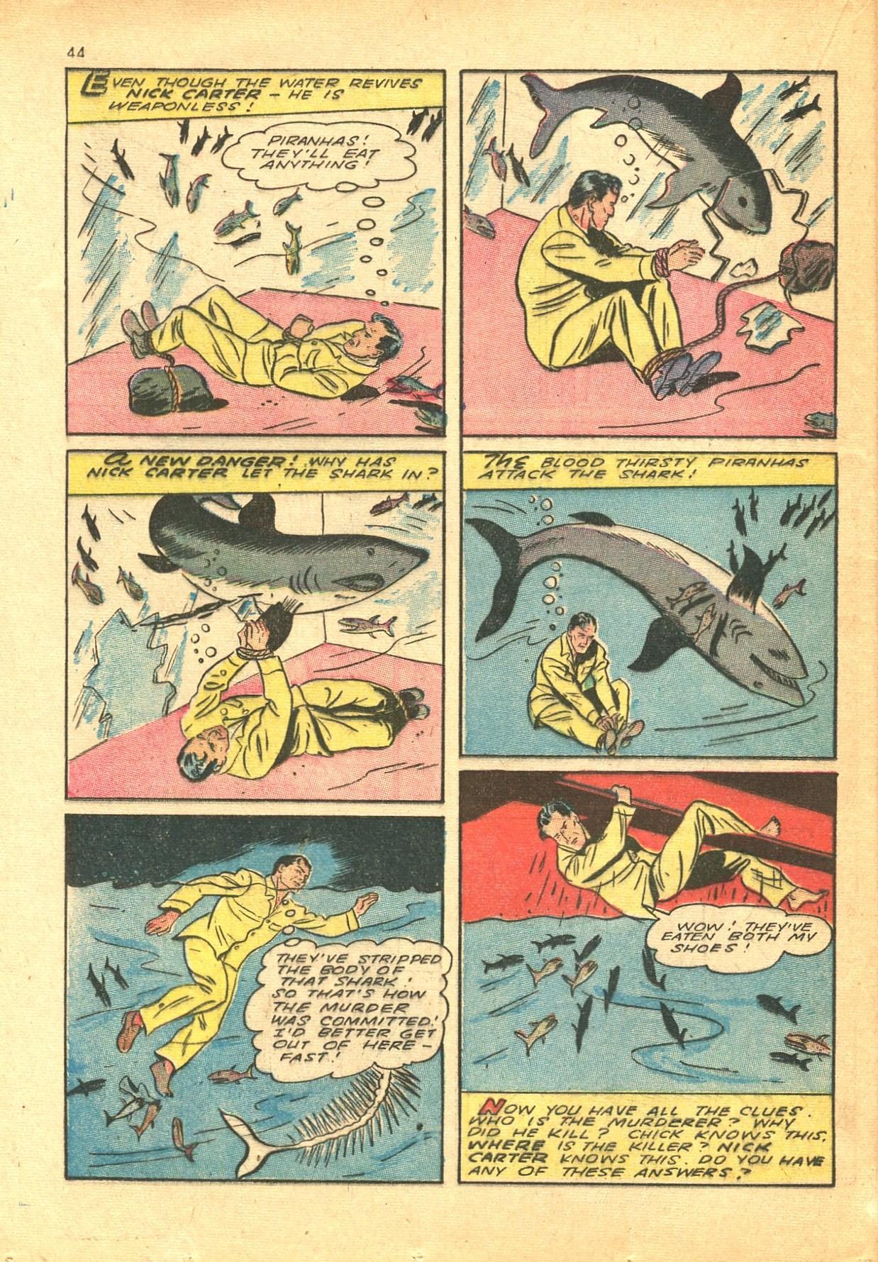 Read online Shadow Comics comic -  Issue #24 - 36