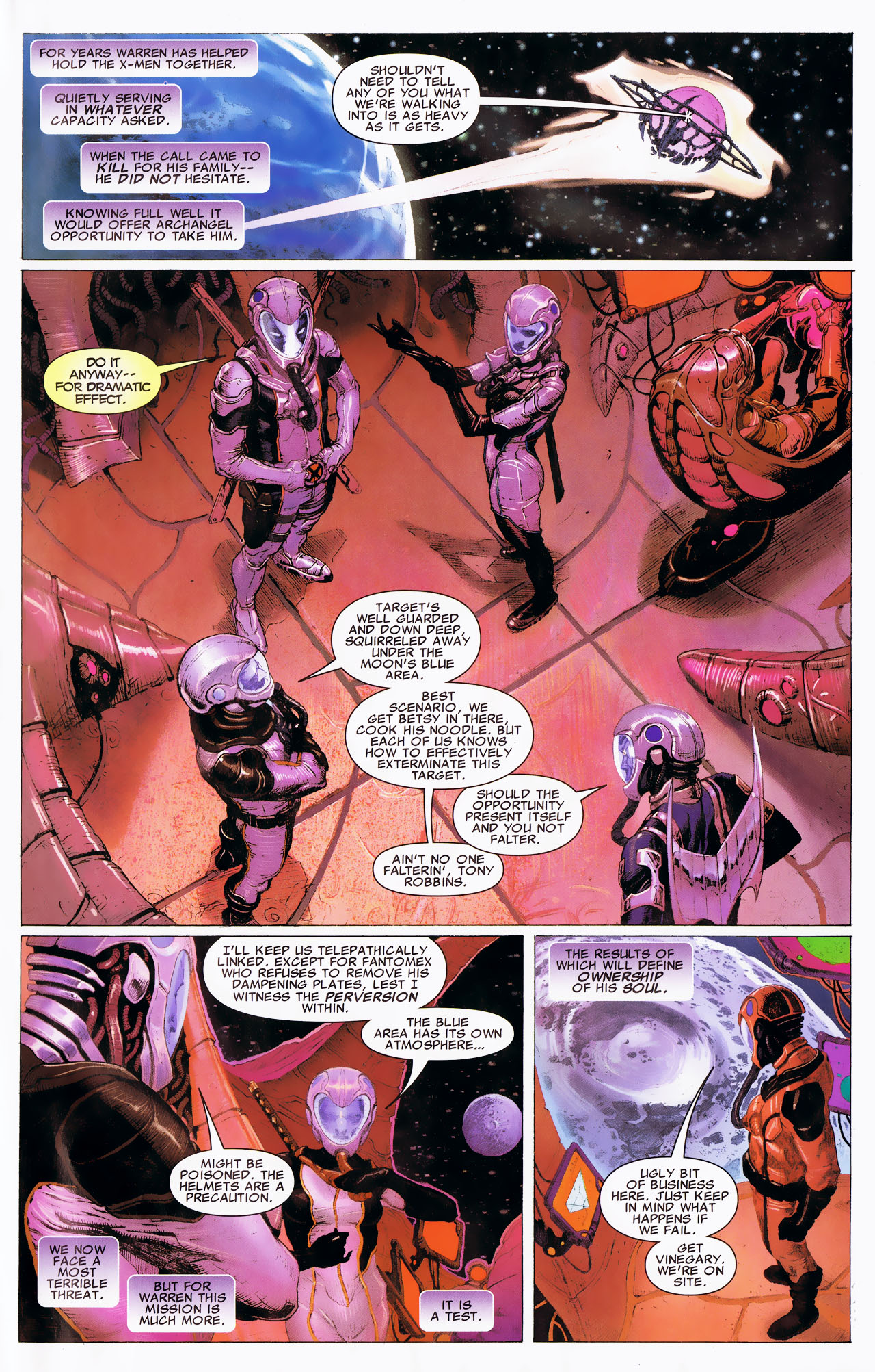 Read online Uncanny X-Force: The Apocalypse Solution comic -  Issue # Full - 41