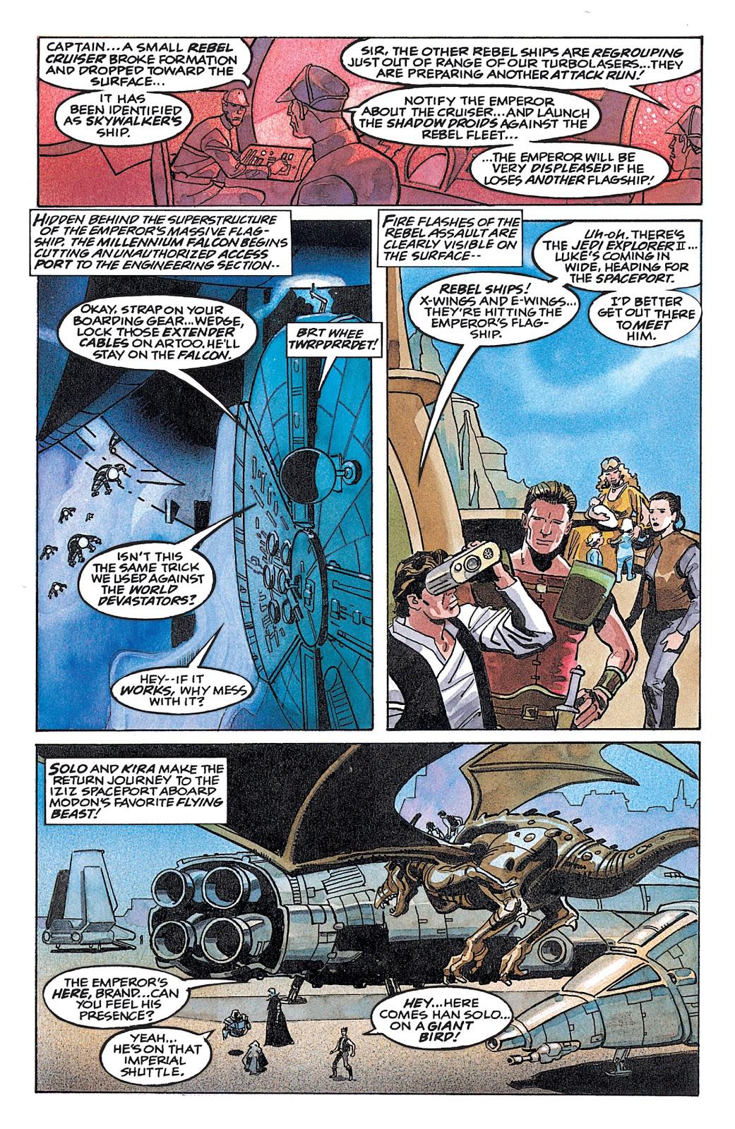 Read online Star Wars: Dark Empire Trilogy comic -  Issue # TPB (Part 4) - 44