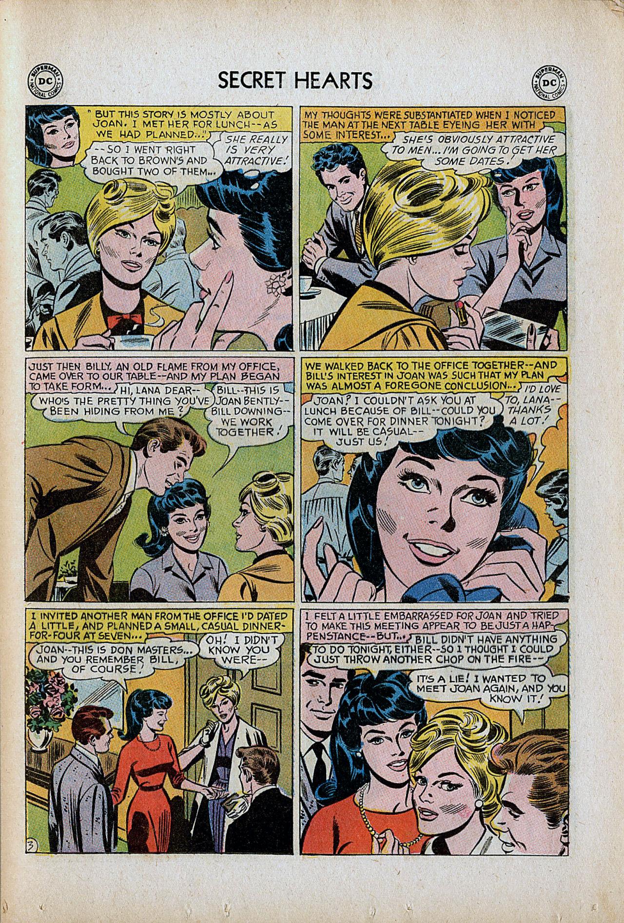 Read online Secret Hearts comic -  Issue #86 - 29