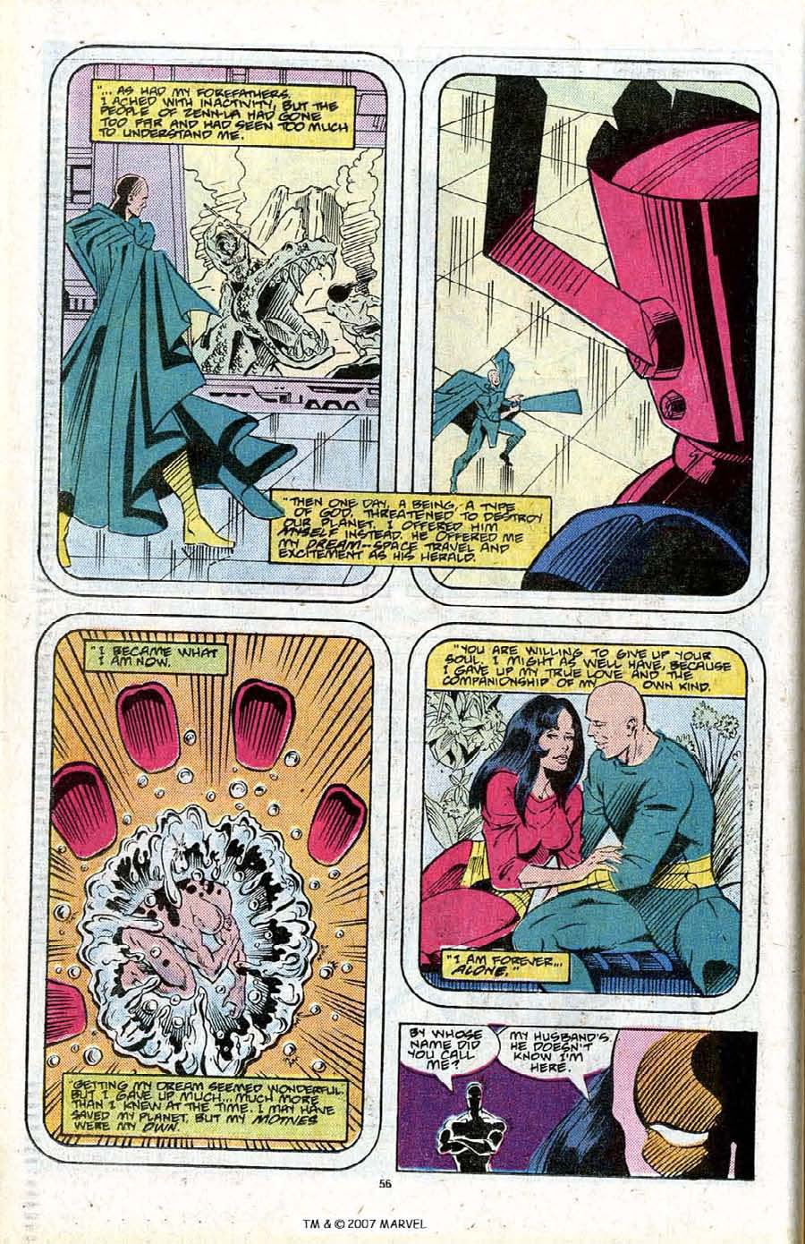 Read online Silver Surfer (1987) comic -  Issue # _Annual 2 - 58