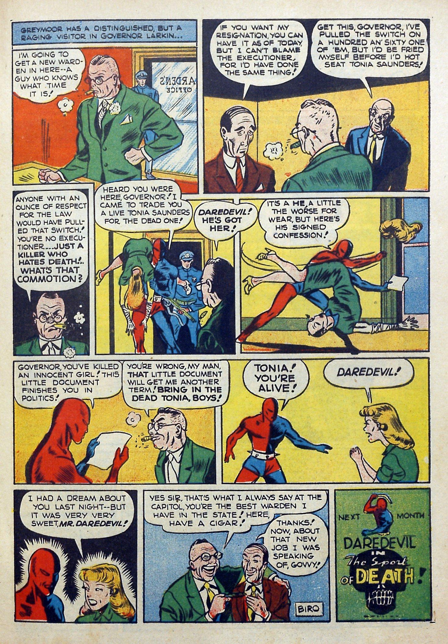 Daredevil (1941) issue 3 - Page 15