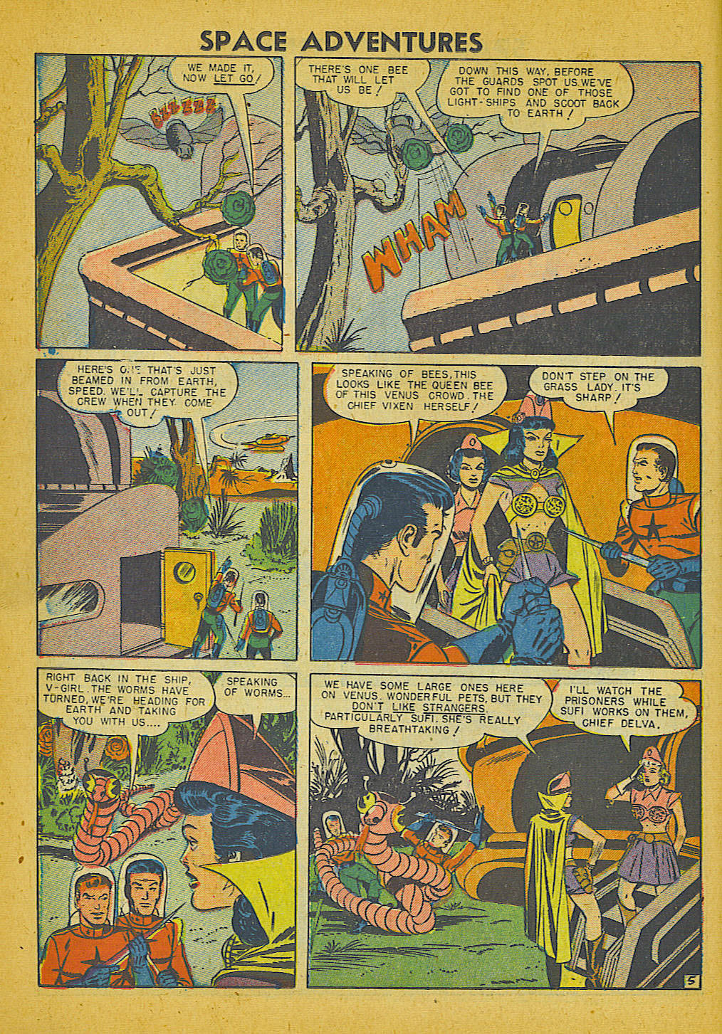Space Adventures (1952) issue 3 - Page 13