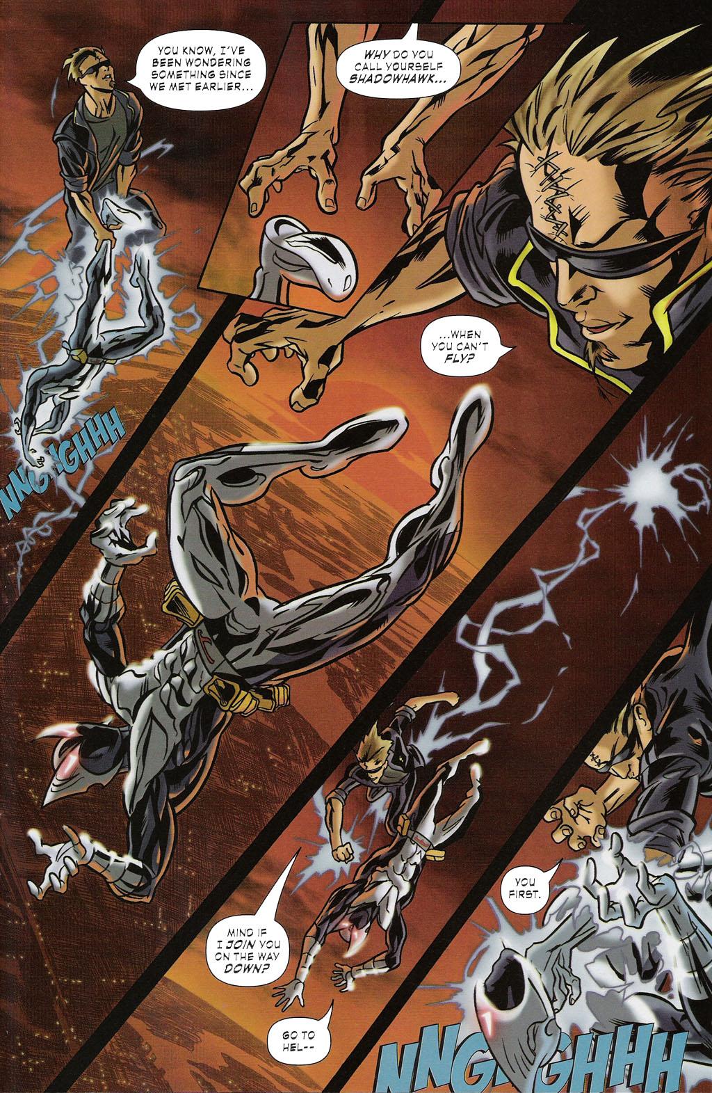 Read online ShadowHawk (2005) comic -  Issue #2 - 21