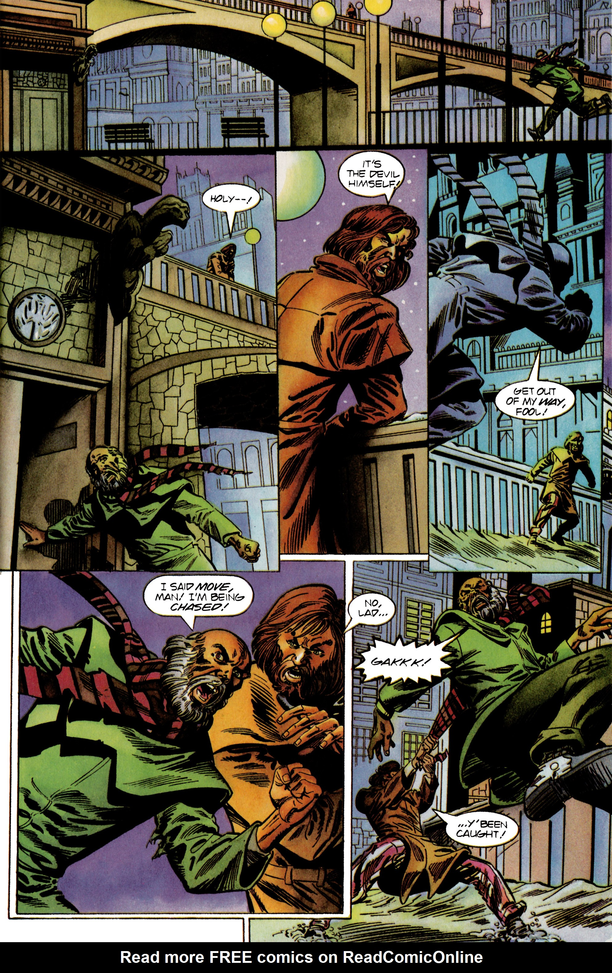 Read online Eternal Warrior (1992) comic -  Issue #24 - 14