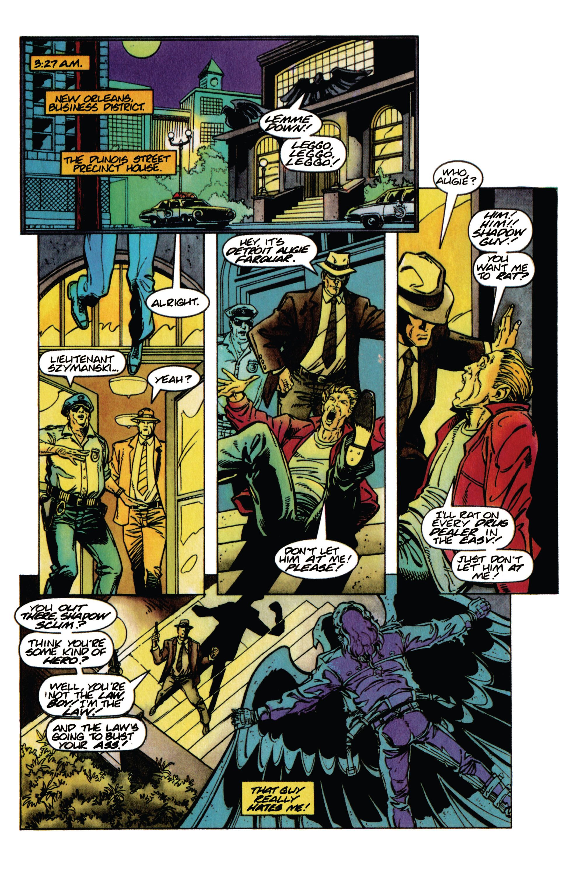 Read online Shadowman (1992) comic -  Issue #31 - 9
