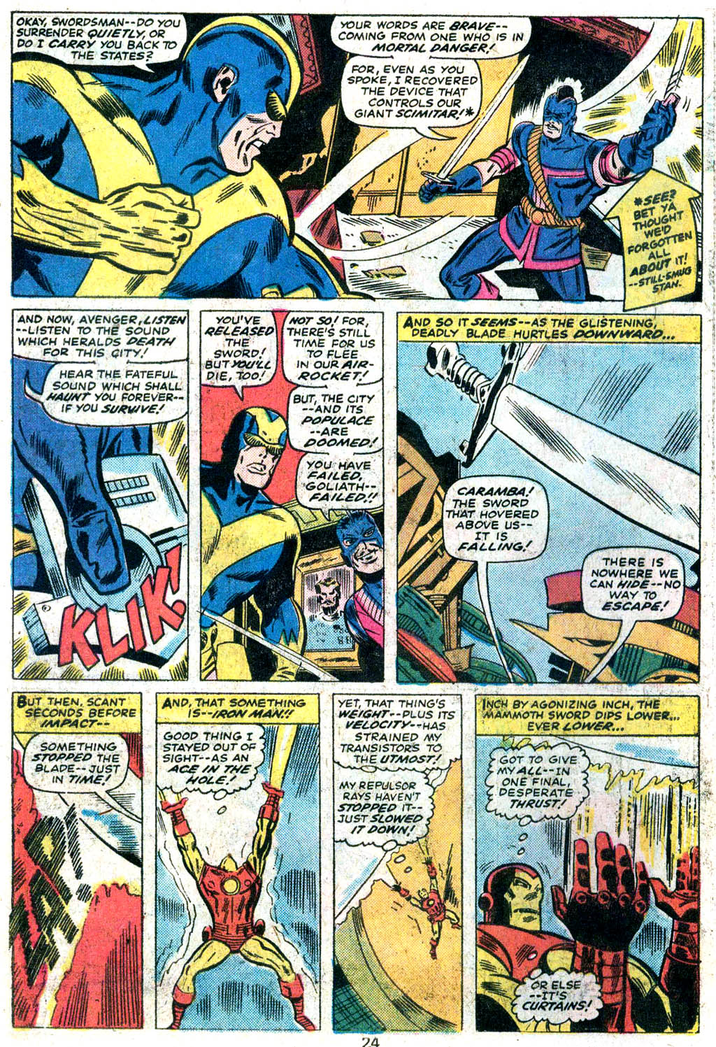 Giant-Size Avengers (1974) issue 5 - Page 19