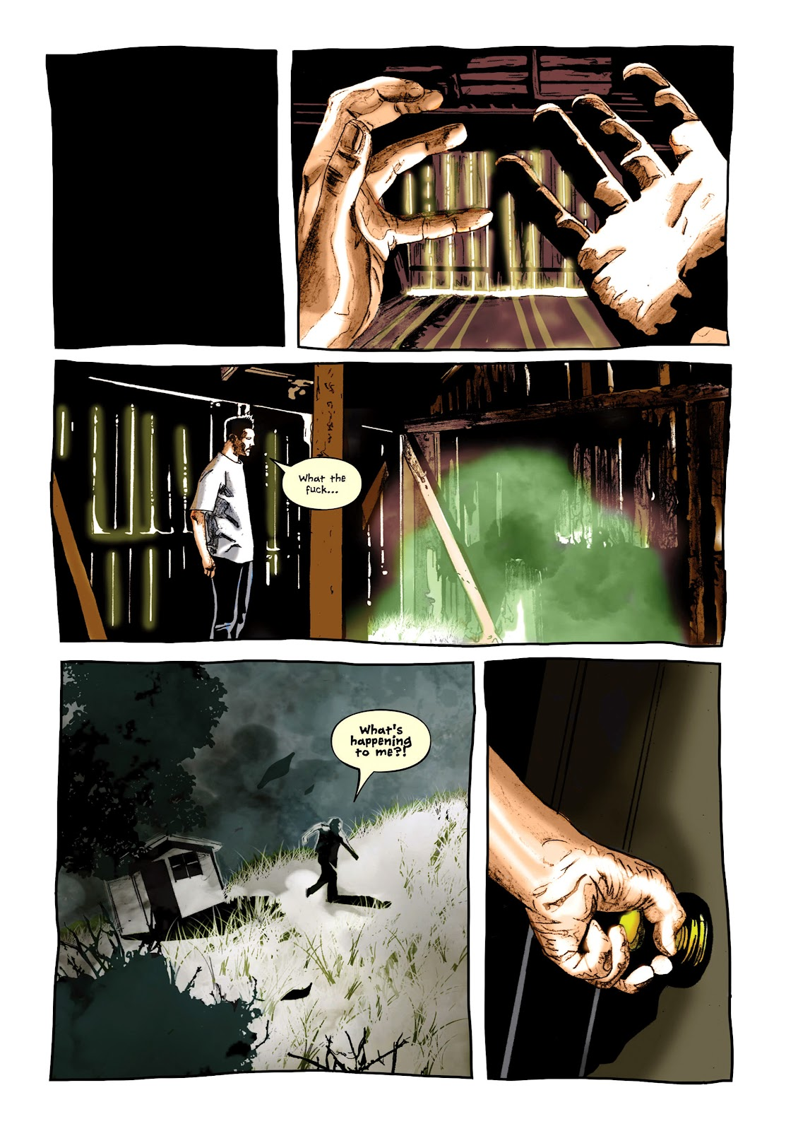 Read online Cursed Land comic -  Issue #2 - 12